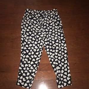 Kate Spade High-Waisted Slouch Pants. Size 4